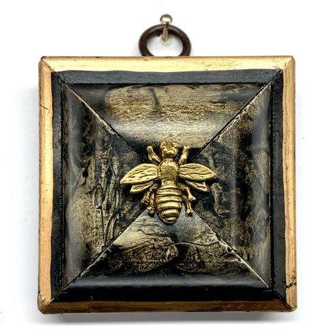Lacquered Frame with Napoleonic Bee (2.75
