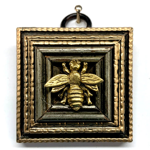 Painted Frame with Napoleonic Bee (2