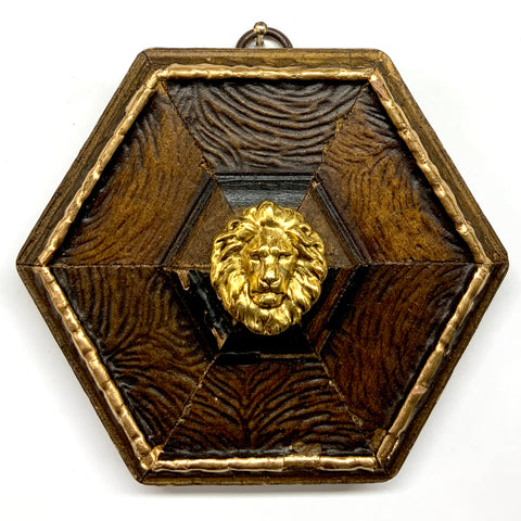Wooden Frame with Lion (4.25