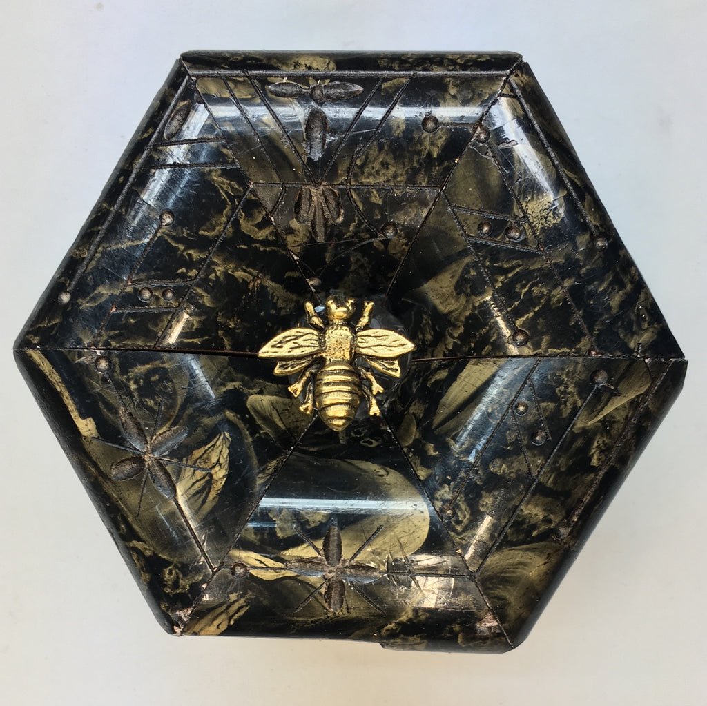 Marbled Frame with Napoleonic Bee  (4