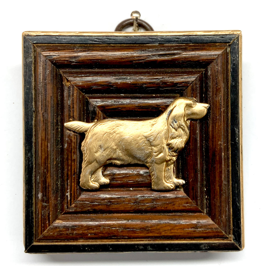 Wooden Frame with Dog (2.75