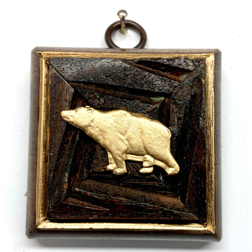Wooden Frame with Bear (2.5