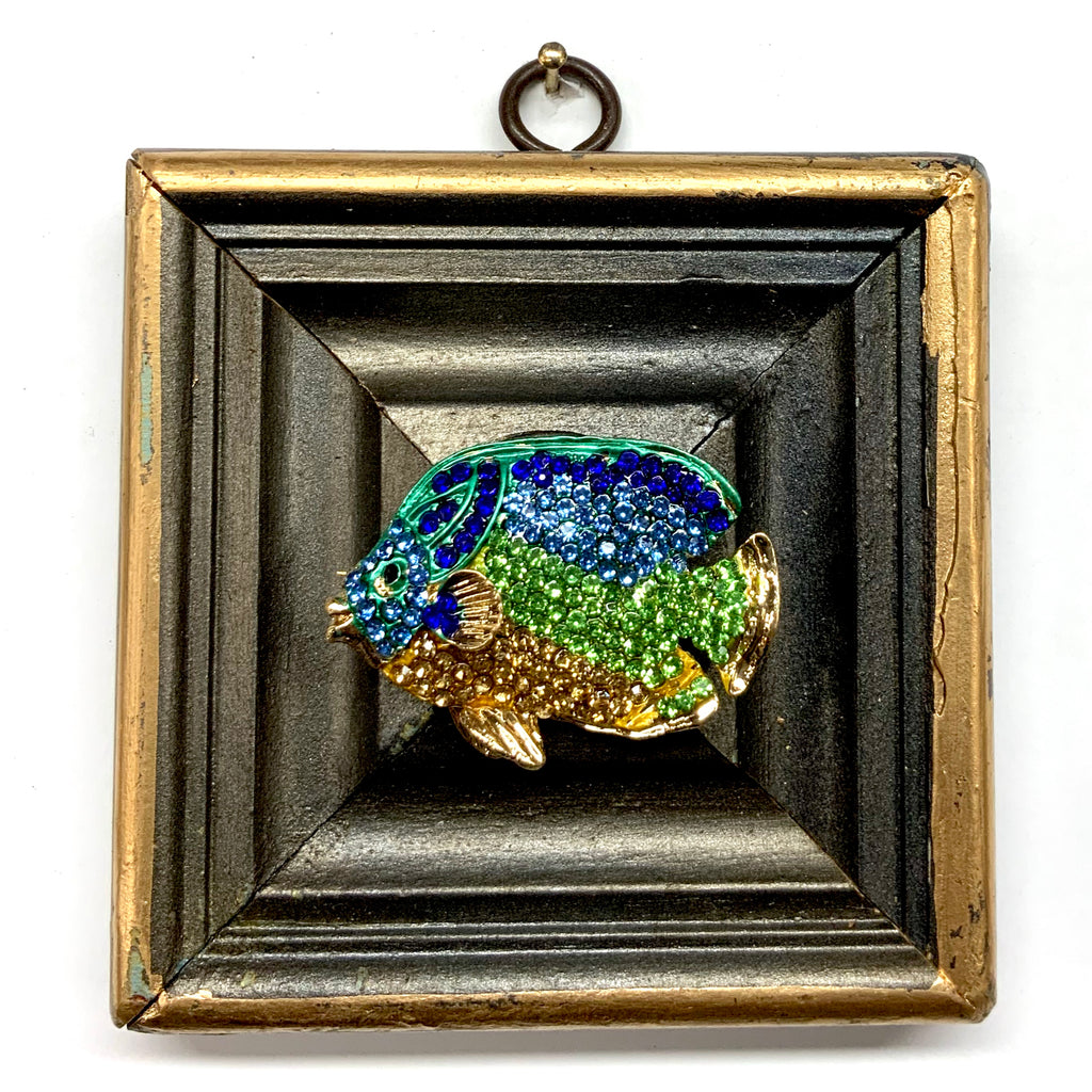 Painted Frame with Sparkle Fish (3.75