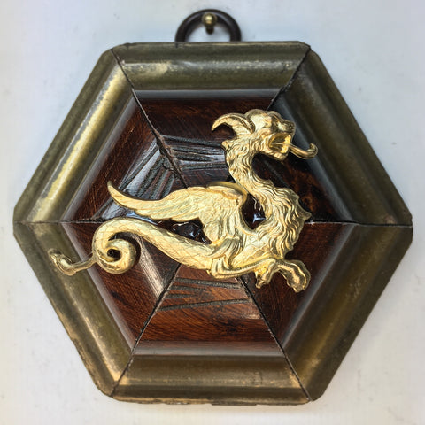 Burled Frame with Dragon (3.25