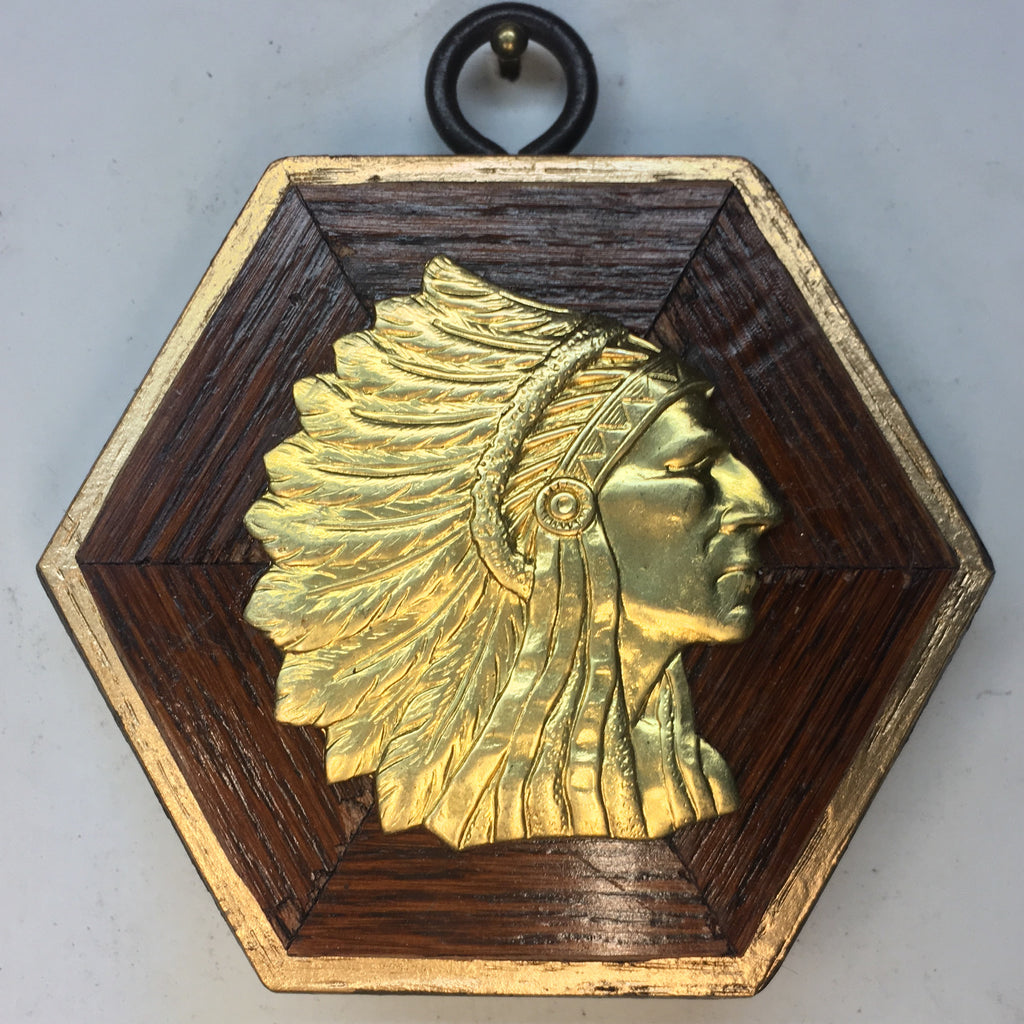 Wooden Frame with Chief (3