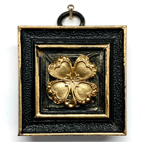 Lacquered Frame with Clover (2