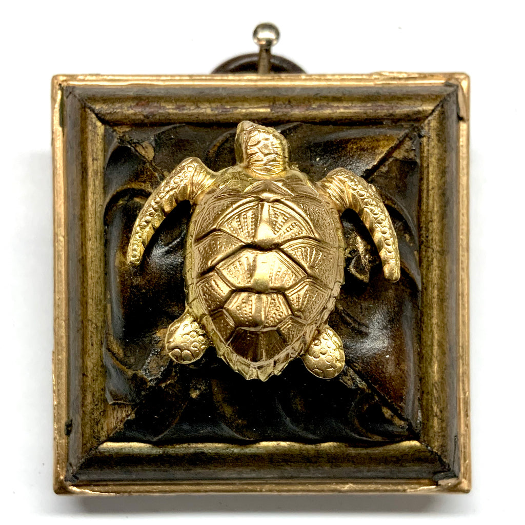 Painted Frame with Turtle (2