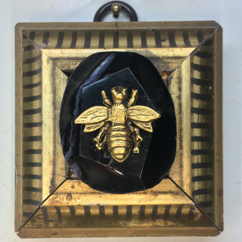 Gilt Frame with Napoleonic Bee on Stone (2.5