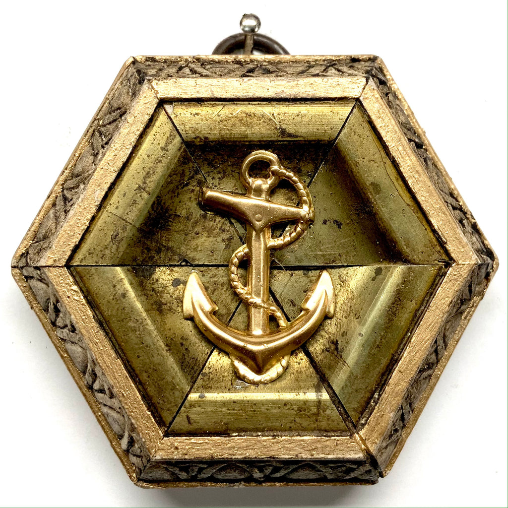 Painted Frame with Anchor (2.75