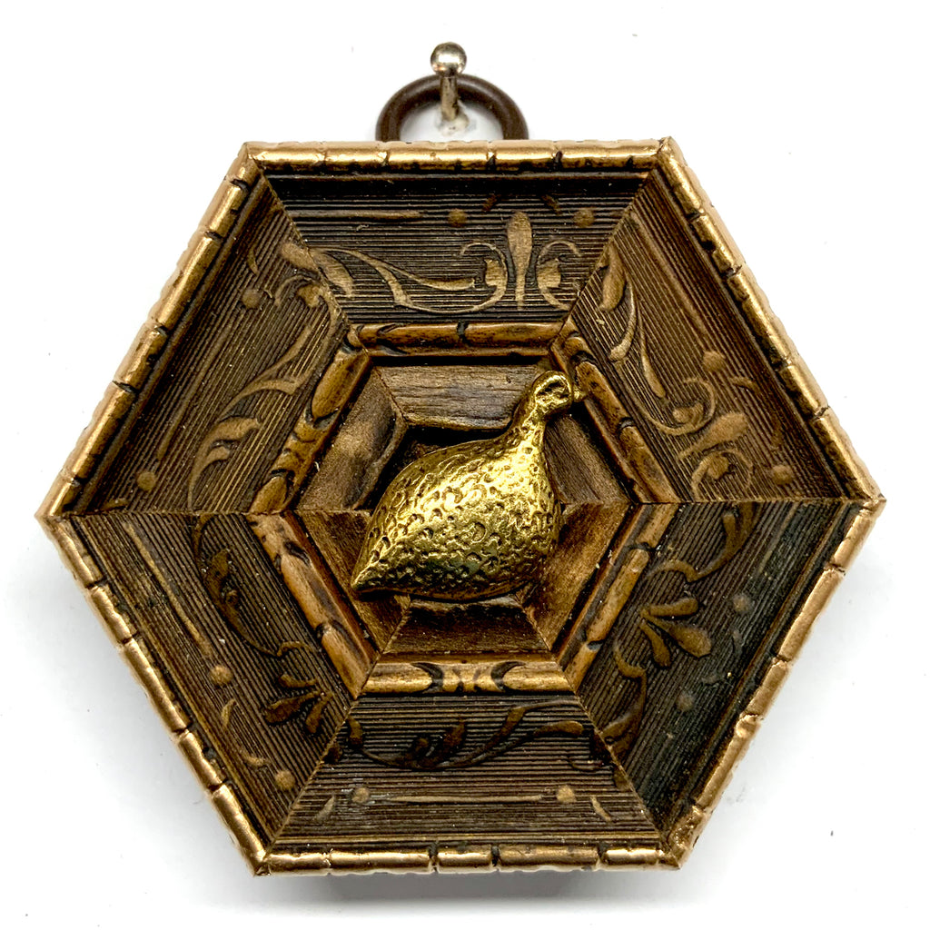 Gilt Frame with Quail (3