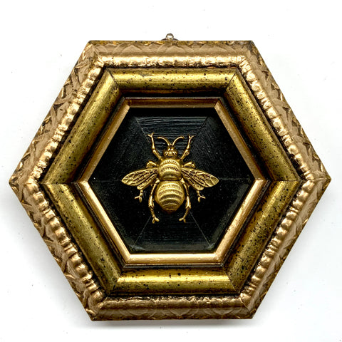 Gilt Frame with Grande Bee (5.25