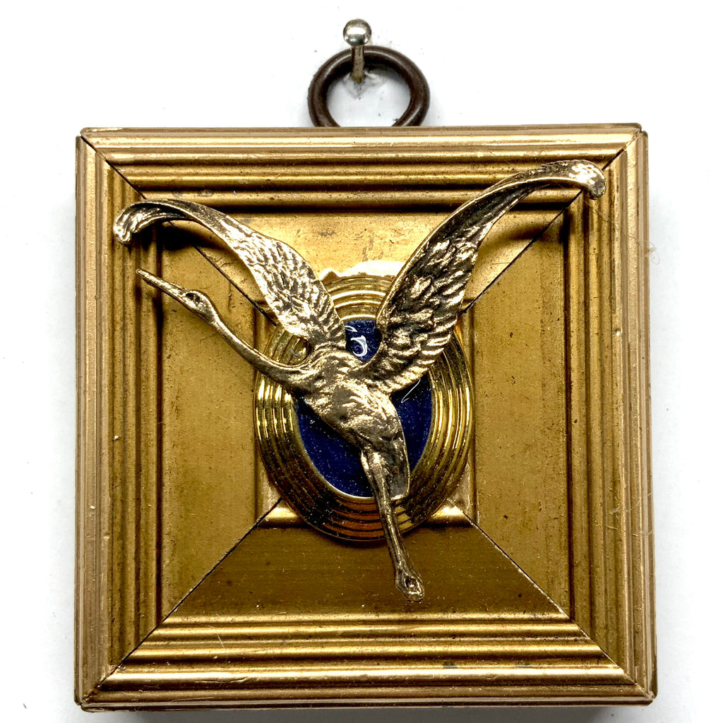 Gilt Frame with Crane (2.5