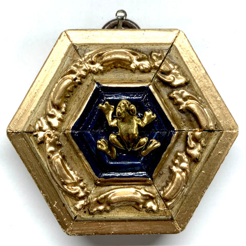 Gilt Frame with Frog (2.5
