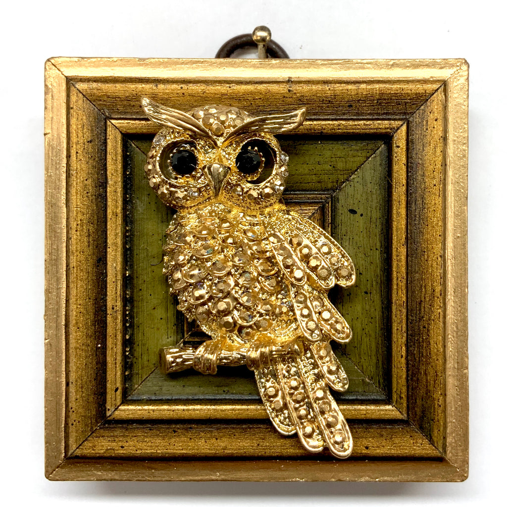 Gilt Frame with Owl (2.75