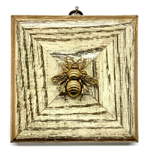 Painted Frame with Grande Bee (4.75