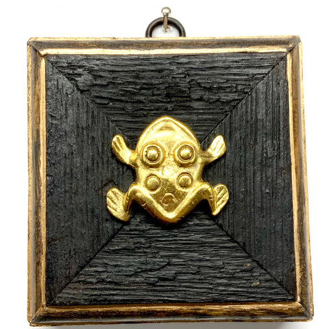 Bourbon Barrel Frame with Frog (3.5