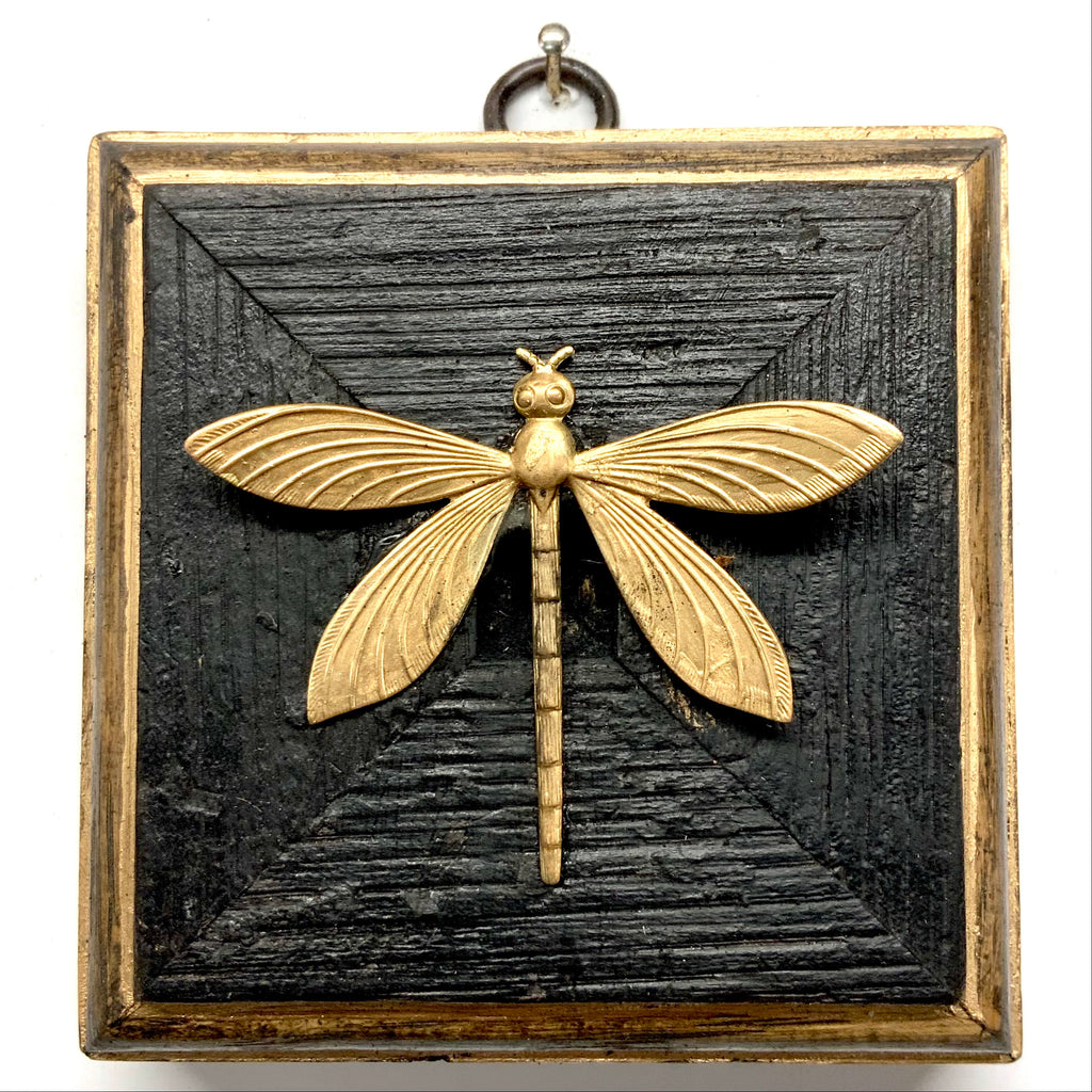 Bourbon Barrel Frame with Dragonfly (3.5