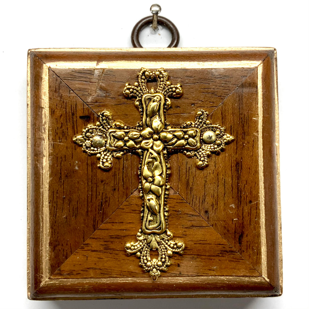 Wooden Frame with Cross (2.75