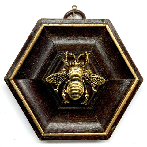 Wooden Frame with Grande Bee (3.25