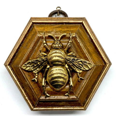 Wooden Frame with Grande Bee (2.75