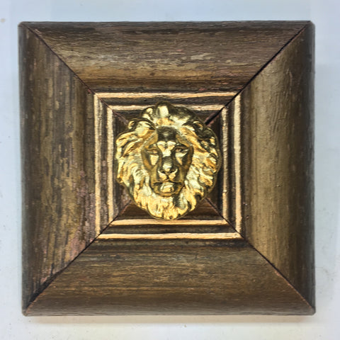 Gilt Frame with Lion (3