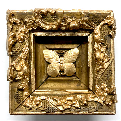 Gilt Frame with Butterfly (5