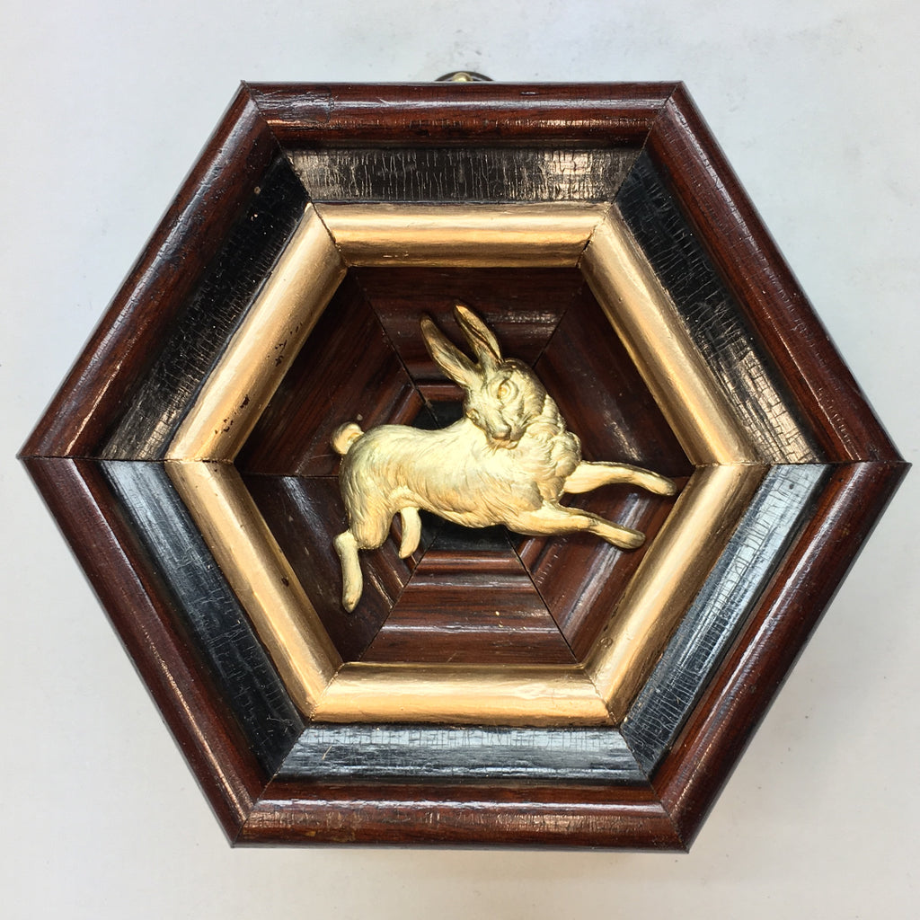 Wooden Frame with Hare (4.5