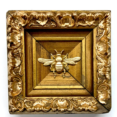 Gilt Frame with Italian Bee (4.75