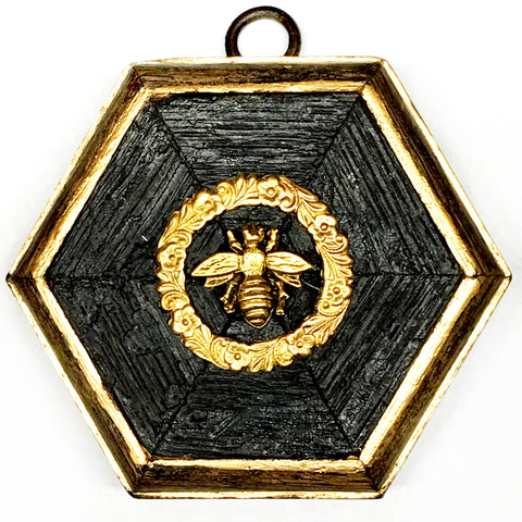 Bourbon Barrel Frame with Napoleonic Bee (3.25