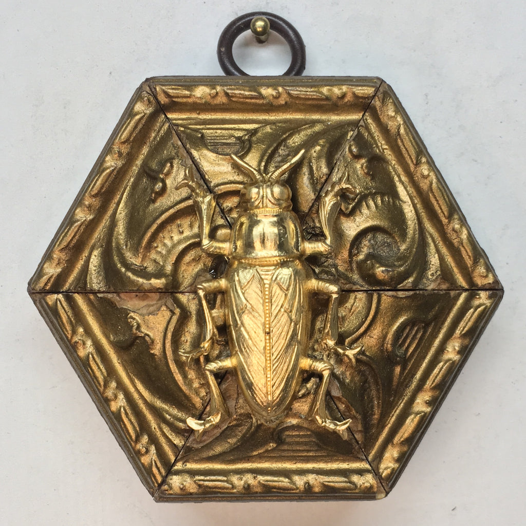 Gilt Frame with Beetle (3