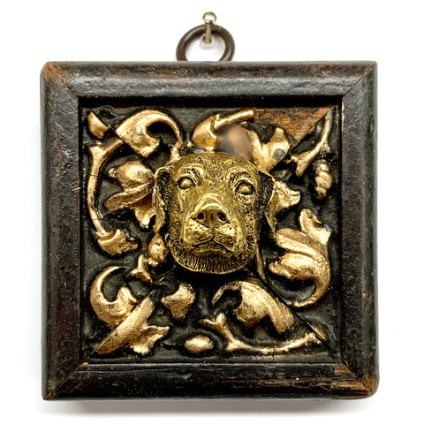 Wooden Frame with Dog (3