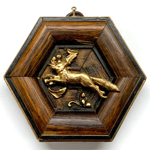 Wooden Frame with Fox (3.5