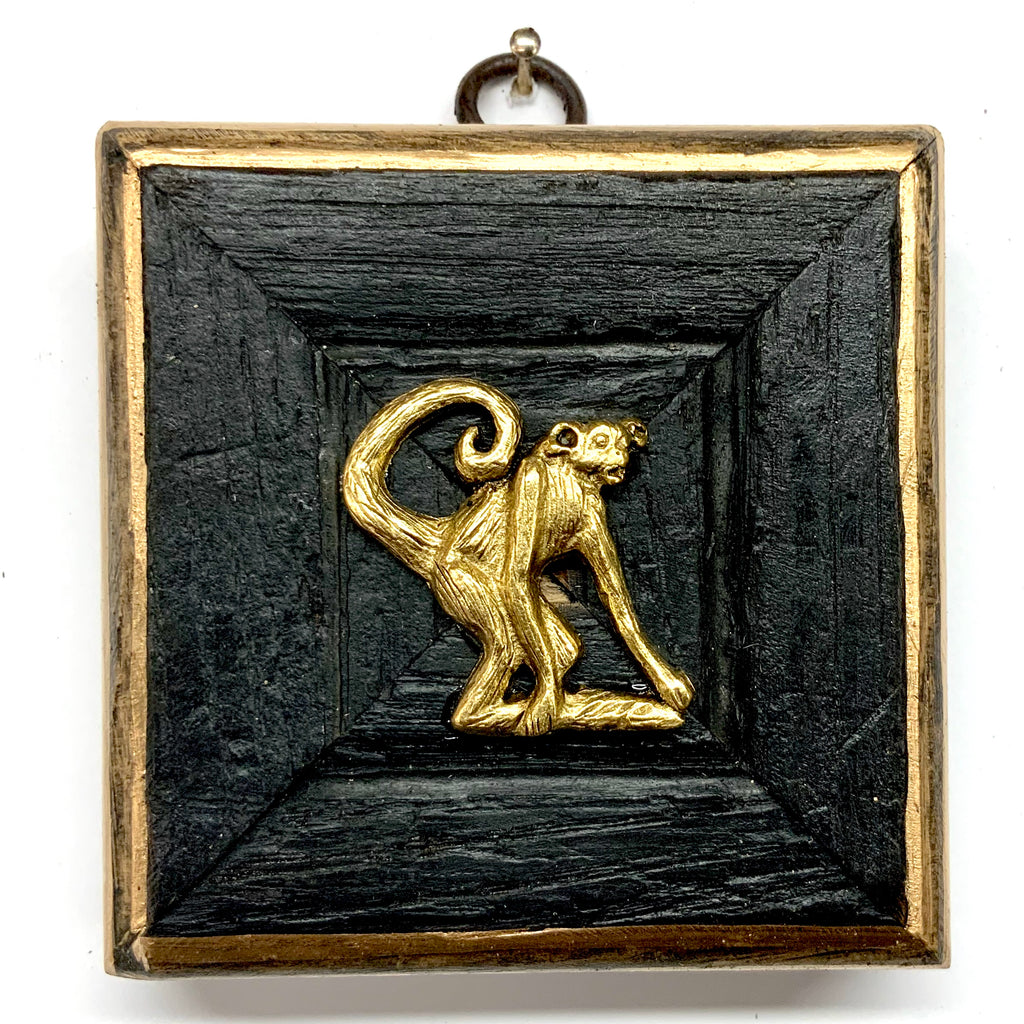 Medium Bourbon Barrel Frame with Monkey (3.25-3.75