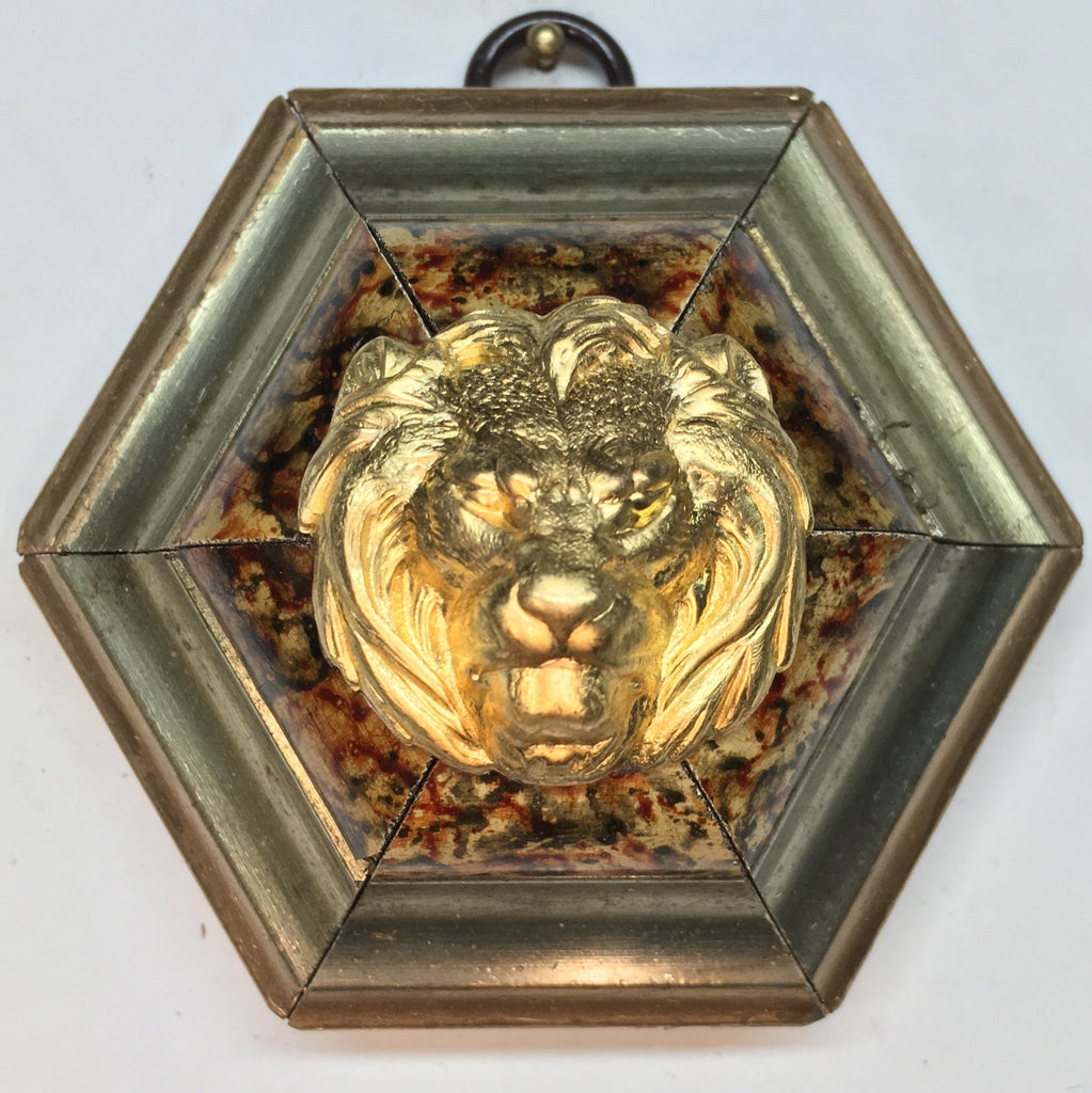 Painted Frame with Lion (3.25