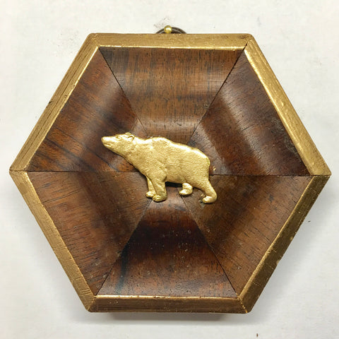 Wooden Frame with Bear (4