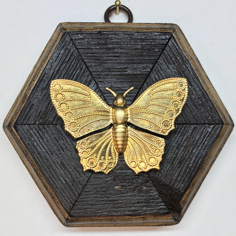 Bourbon Barrel Frame with Butterfly (4.75