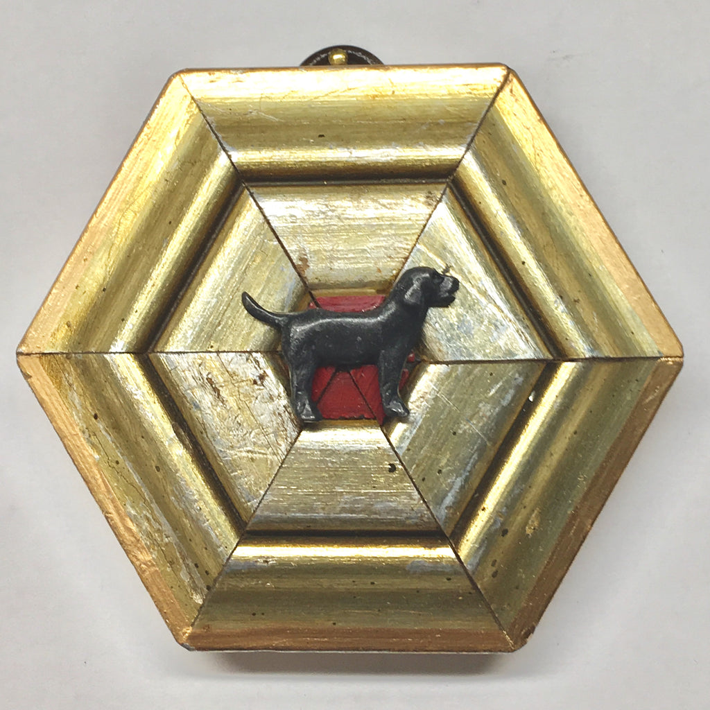 Gilt Frame with Dog (3.5