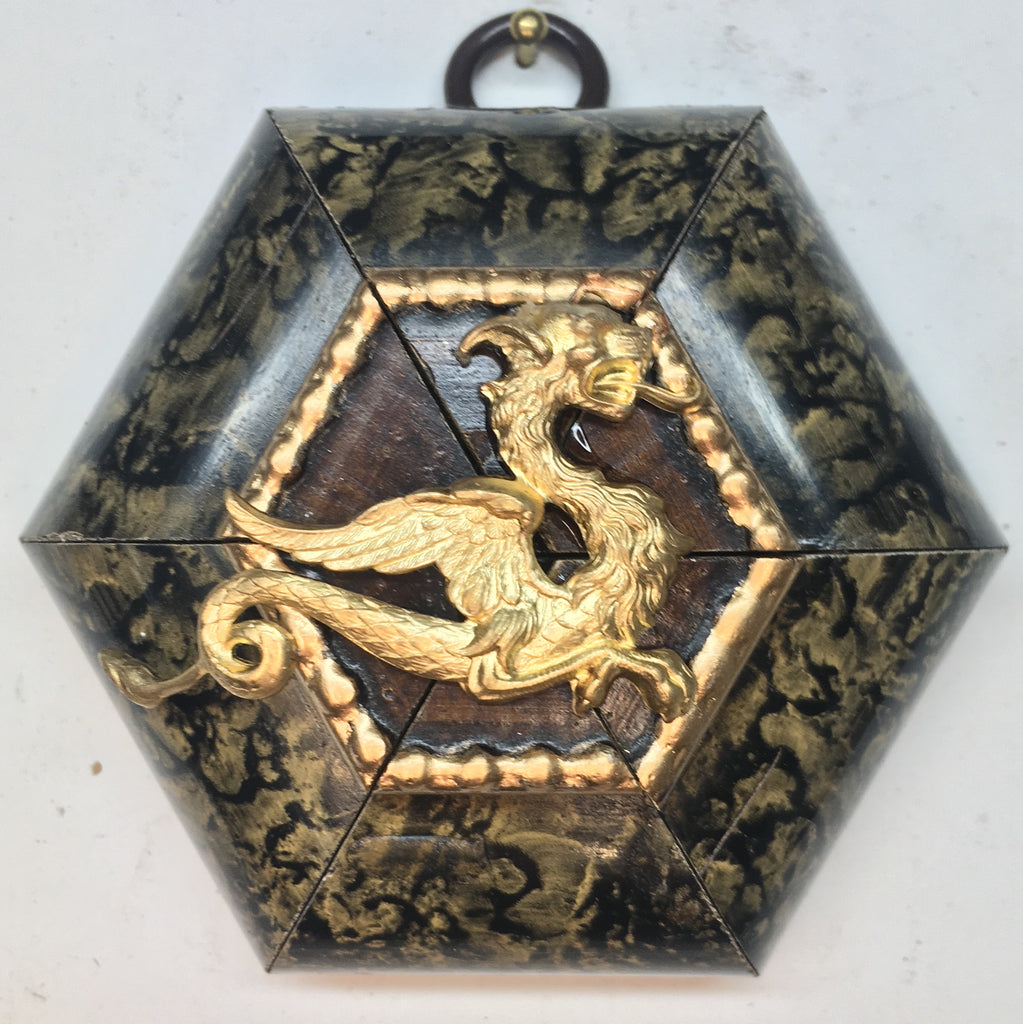 Marbled Frame with Dragon (3.25