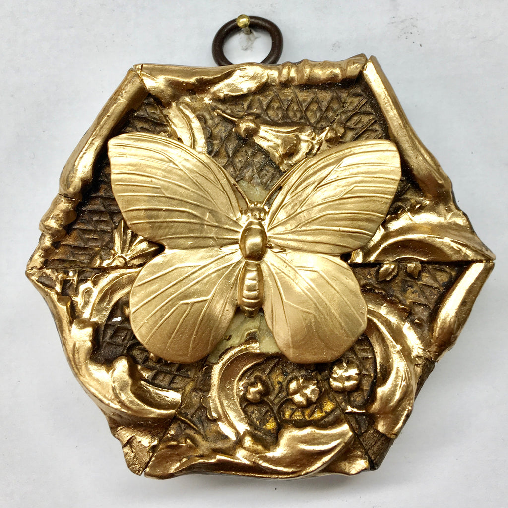 Gilt Frame with Butterfly (3.6