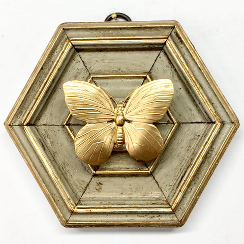 Painted Frame with Butterfly (4.6