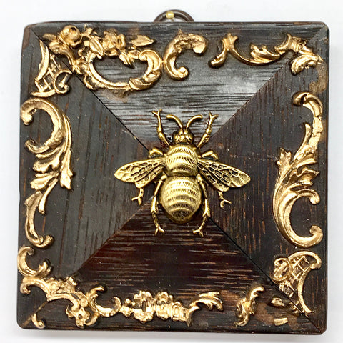 Wooden Frame with Grande Bee (3.9