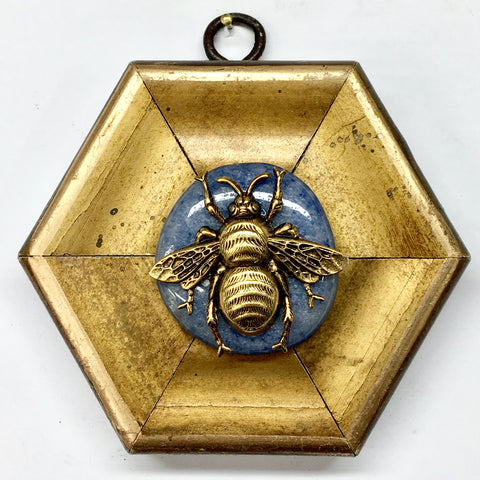 Gilt Frame with Grande Bee on Stone (4