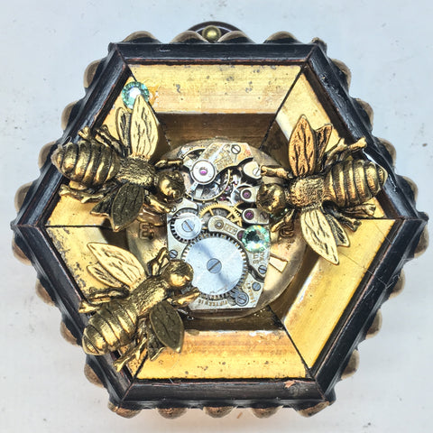 Gilt Frame with Napoleonic Bees (2.5