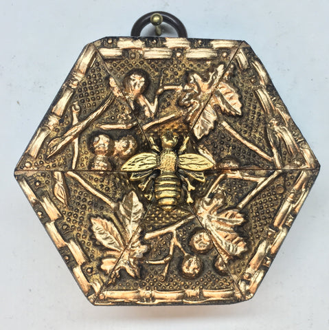 Gilt Frame with Napoleonic Bee (2.75
