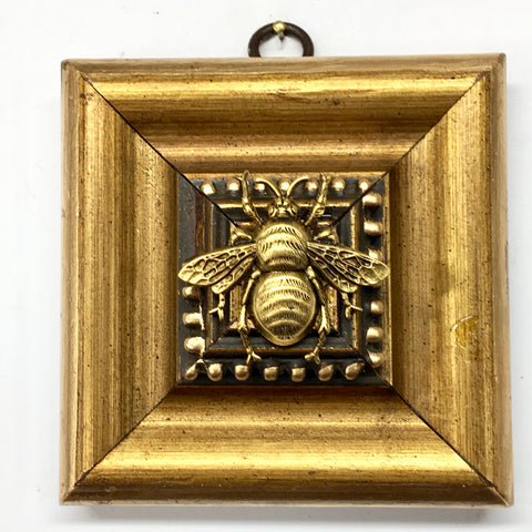 Gilt Frame with Grande Bee (3.9