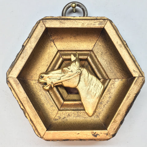Gilt Frame with Horse (2.75