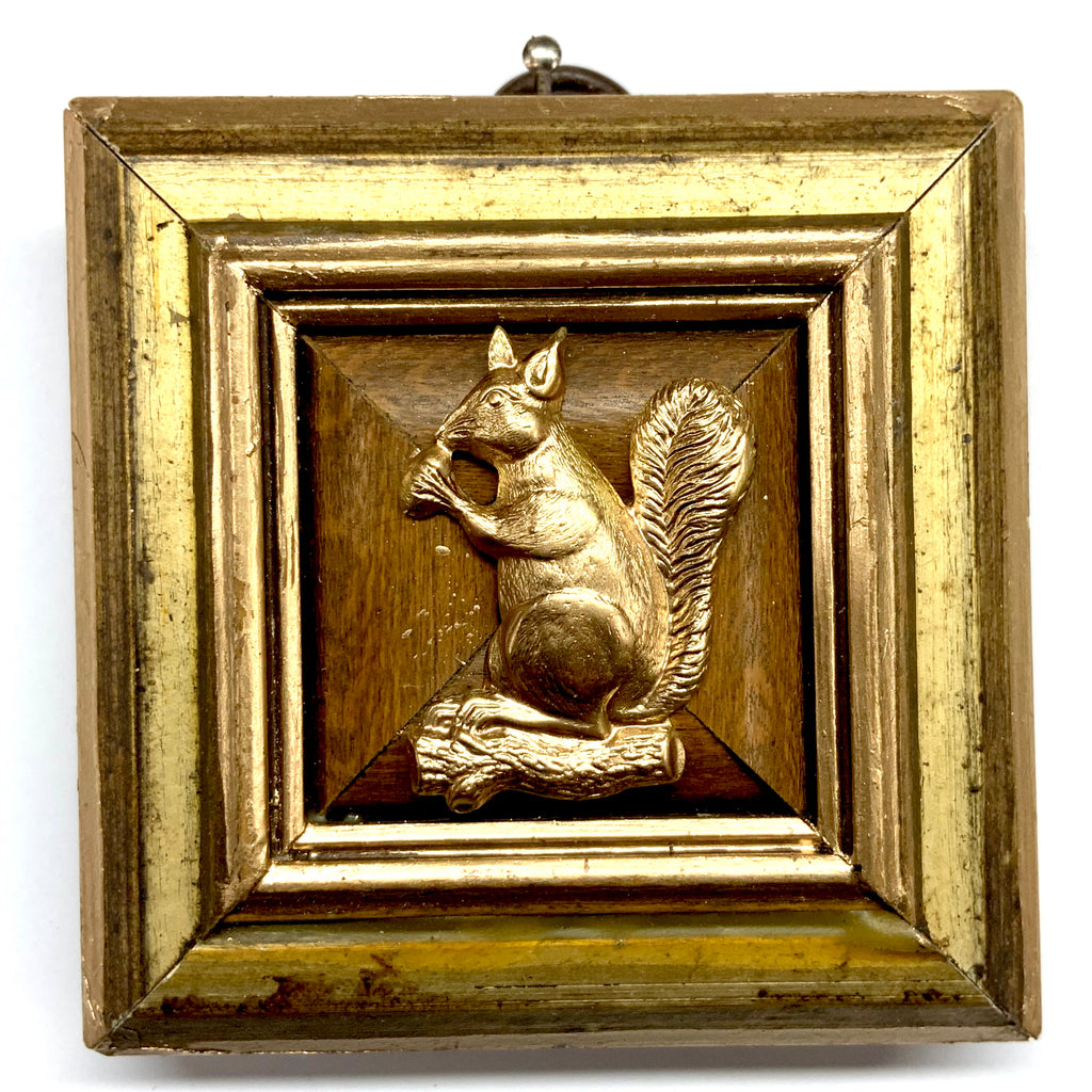 Gilt Frame with Squirrel (3