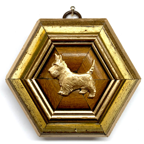 Copy of Gilt Frame with Scottie (3.75