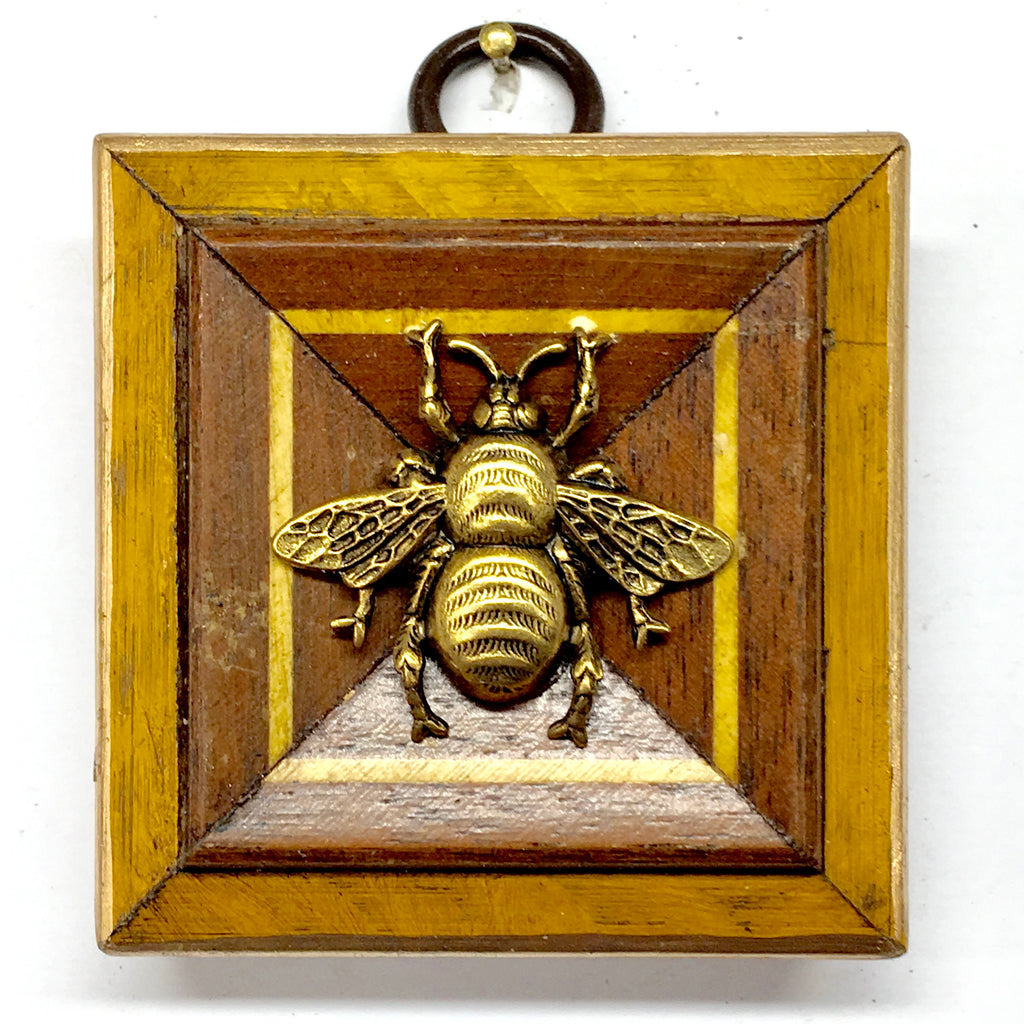 Wooden Frame with Grande Bee (2.3