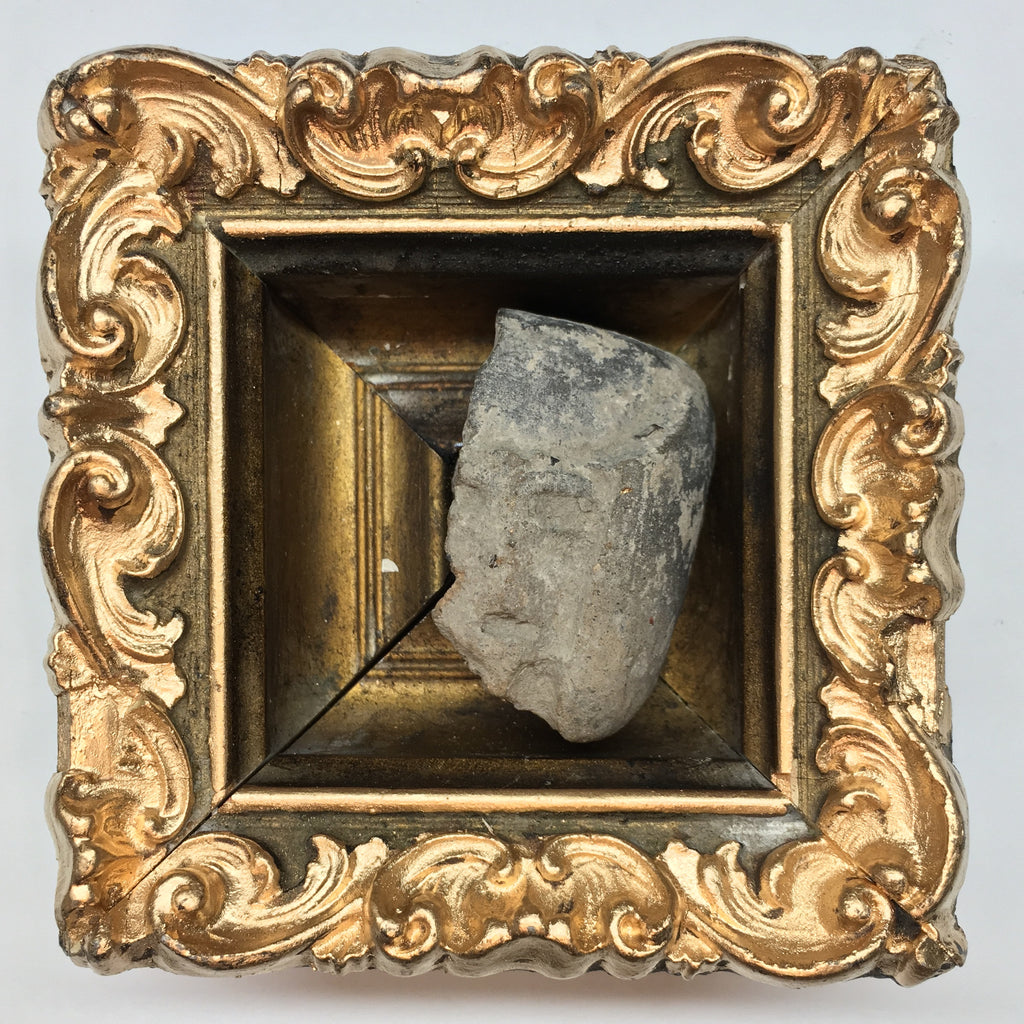Gilt Frame with Pre-Colombian Head (3.75